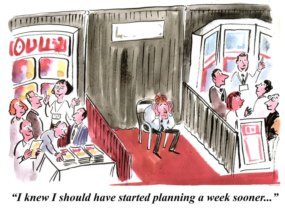 Trade Show Cartoon