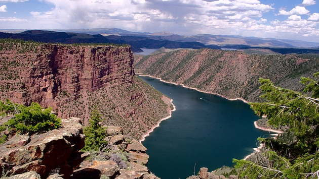 Flaming Gorge National Recreation Area, Wyoming. (Photo via Flickr/Rob Glover