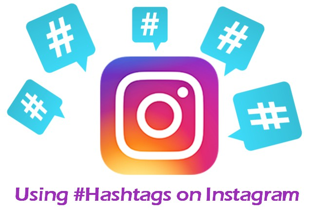 Using Hashtags on Instagram Graphic