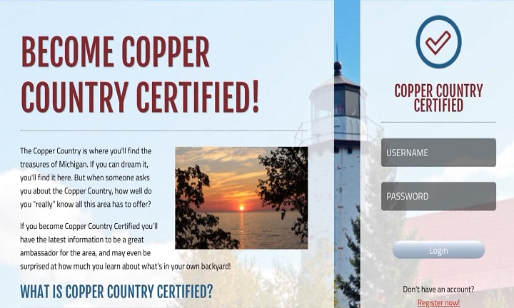 Keweenaw County Copper County Certified