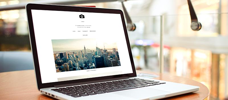 Website Stock Image