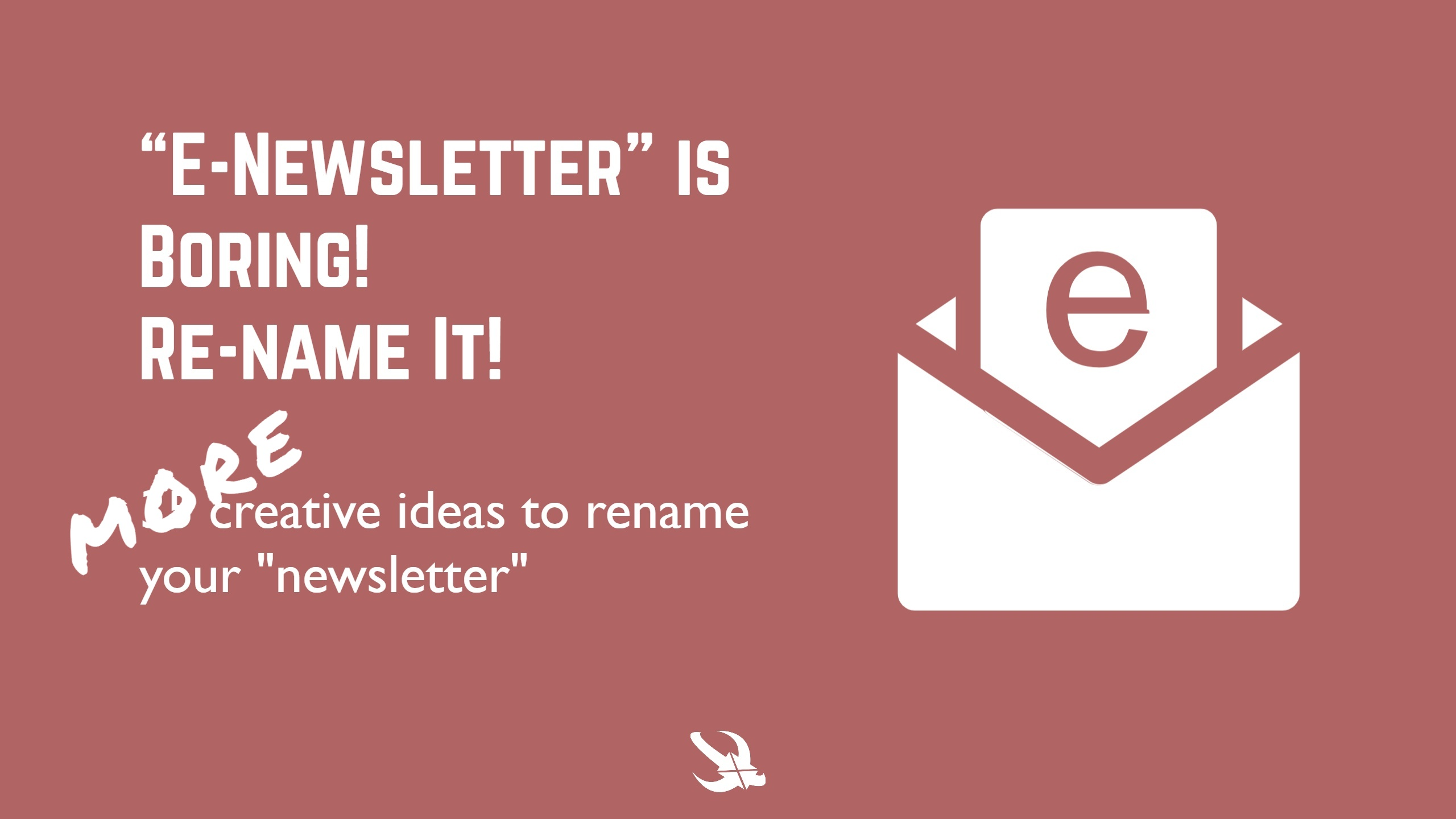 Creative Names to Rename Email Newsletter